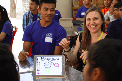 Advancing Educational Opportunities in Cambodia – Team4Tech Returns to Siem Reap with Box, Mobile Tech & Collaborative Spirit