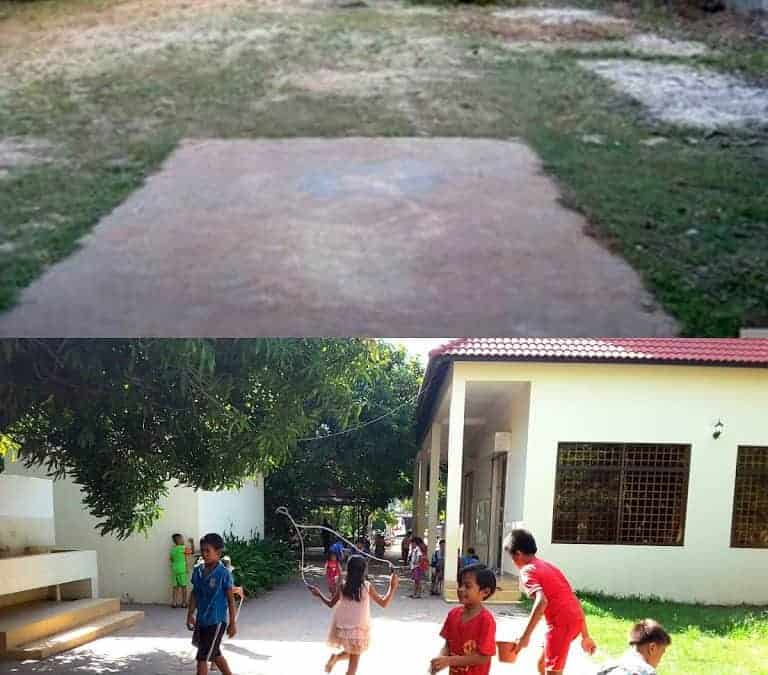 Now and Then: JWOC's Community Center and Art Class!