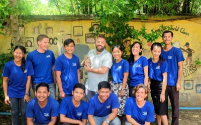 An unexpected lesson from JWOC's scholarship students – Patrick's volunteering experience